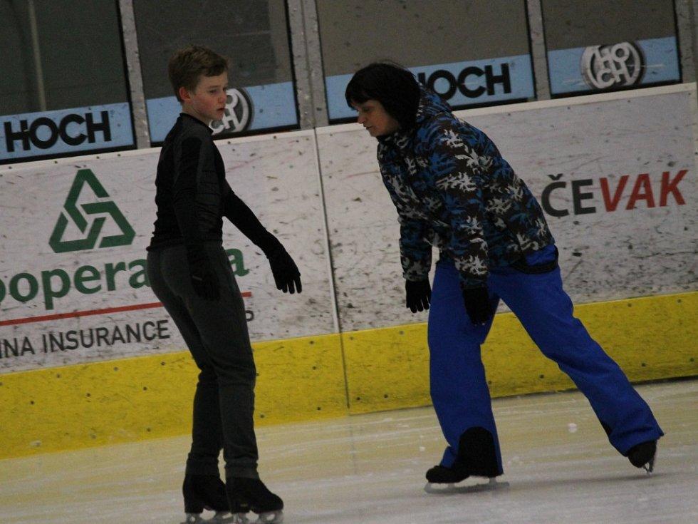 S trenérkou Ivetou Bidařovou v Budvar aréně.