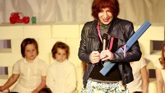Režisérka Michaela Pavlátová dostala na třeboňském festivalu Anifilm cenu za šíření dobrého jména české kultury.