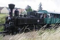 Výlety parním vlakem patří mezi vyhledávané turistické atrakce.