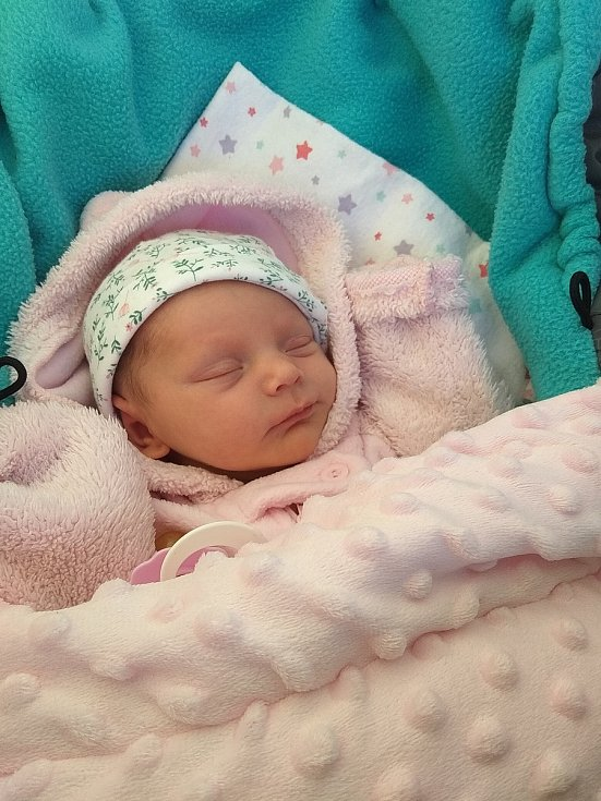 Rozálie Potměšilová, Heřmaneč.Narodila se 3. dubna mamince Renatě Potměšilovéa tatínkovi Milanu Potměšilovi. Vážila 2510 gramů a měřila 46 cm.