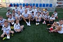 E.ON Fotbalovou školu navštívil také Jan Koller.