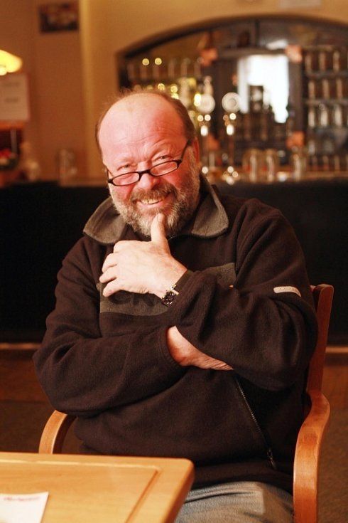 Jaroslav Sýbek, fotograf, štamgast od roku 1980.