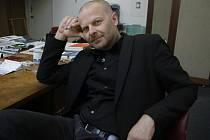 Kurátor Domu umění Michal Škoda nyní přemýšlí, zda i v roce 2013 bude galerii provozovat - radnice totiž vypsala výběrové řízení.
