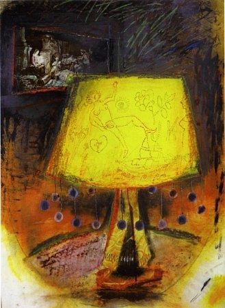 Vknize Ostnaté vzpomínky vzpomíná malíř Karel Valter (1909 - 2006) na nejhorší část svého života, nacistickou okupaci a své věznění vTáboře, Terezíně a Buchenwaldu. Na snímku koláž Lampa Ilsy Kochové.