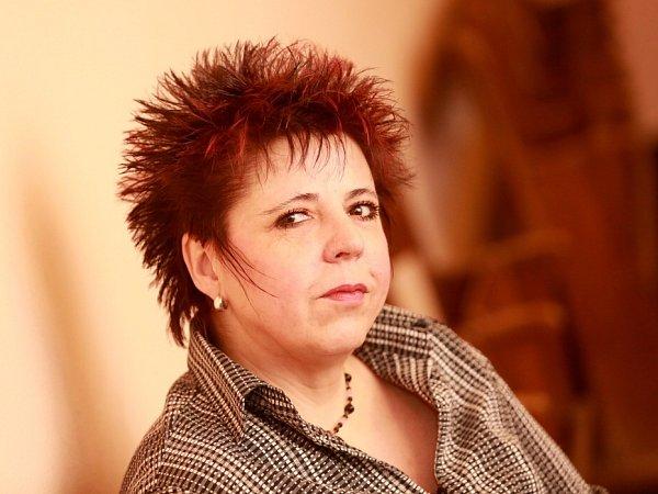 Básnířka Kateřina Bolechová.