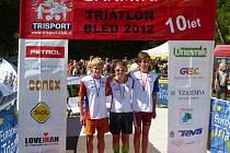 Jihočeši byli úspěšní na triatlonových závodech