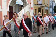 Sobotní městské slavnosti zasvětili Vltavotýnští známému loutkáři Matěji Kopeckému, který byl ve městě pohřben.