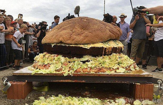 Burger rekordman.