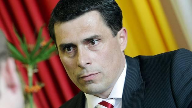 Generální manažer Královéhradeckých lvů Aleš Kmoníček.