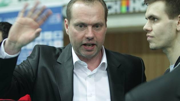 Trenér Jan Svoboda