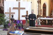 Velikonoční kostel bude bez věřících