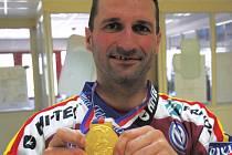 Luboš Rob má z působení ve Spartě Praha zlatou extraligovou medaili.