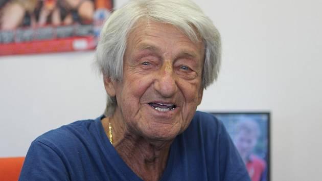 Petr Turek v neděli 21. července oslavil 85. narozeniny.