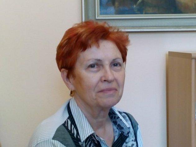 Hana Vacovská, předsedkyně OVR Českého Červeného kříže České Budějovice