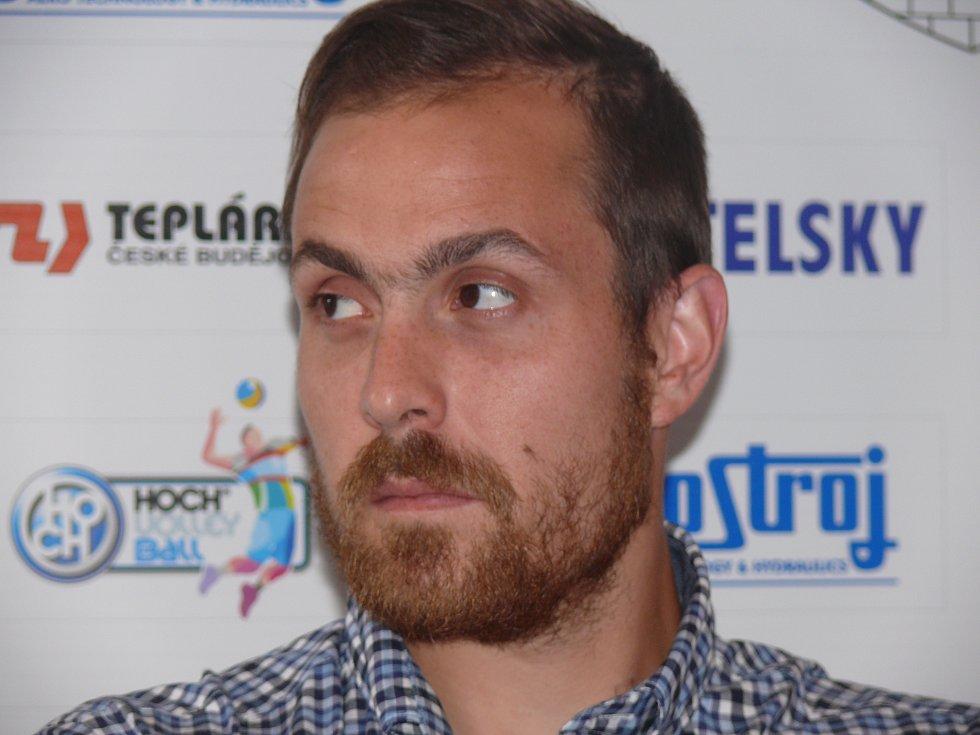 Chilan Sebastian Gevert v Jihostroji České Budějovice