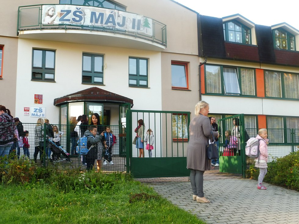 První školní den, ZŠ Máj II