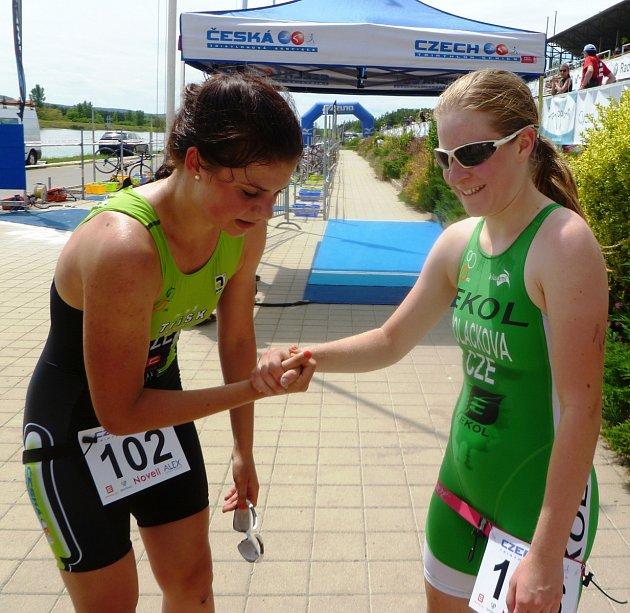 Českobudějovická triatlonistka Simona Šimůnková