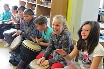 Škola organizuje ve školním roce mnoho zajímavých akcí. V dubnu nechyběly například oslavy Dne Země.