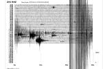 Záznam seismografu z úterý 29 prosince ze Zvíkova.