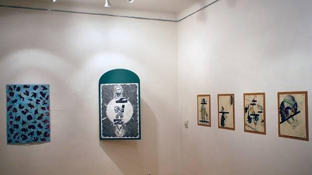 Výstava Marka Meduny je dialogem s diváky.