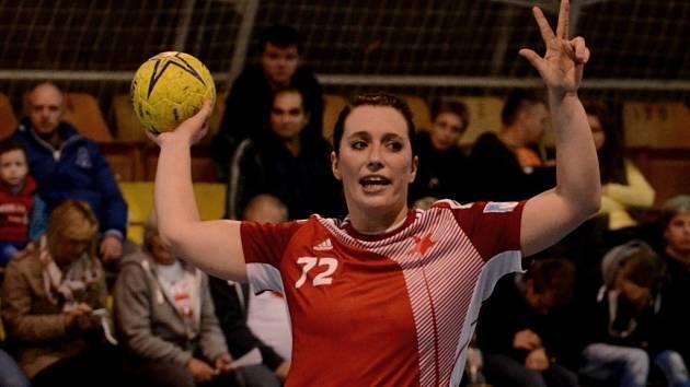ZASE DOMA. Kateřina Keclíková se ukázala v Písku.