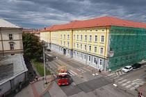 Opravená kasárna v Českých Budějovicích