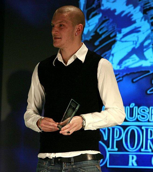 Vyhlášení ankety Sportovec roku 2011 v českobudějovickém domu kultury Metropol. 6. Zdeněk Ondrášek (fotbalista SK Dynamo ČB) - 80