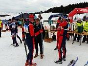 Nedělního závodu se zúčastnilo 579 běžců.  Foto: Deník/Michal Havelka