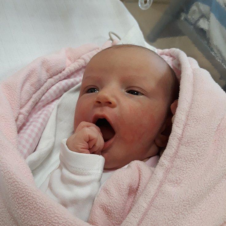Sofie Rudolfová ze Soběslavi. Na svět přišla 20. března 2020 ve 13.01 hodin. Po narození vážila 3560 gramů a měřila 51 cm. Je druhým dítětem rodičů Lenky a Jakuba. Doma na sestřičku čekal bratr Viktor.