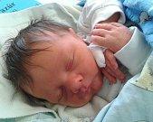 Jiří Pazúr přišel v budějovické porodnici na svět 28.10. 2015 ve 12.37 hodin. Vážil 3,16 kg a měřil 49 cm. S tatínkem Jaroslavem Pazúrem, maminkou Veronikou Novotnou a sestřičkou Anetkou bydlí v Horní Stropnici.