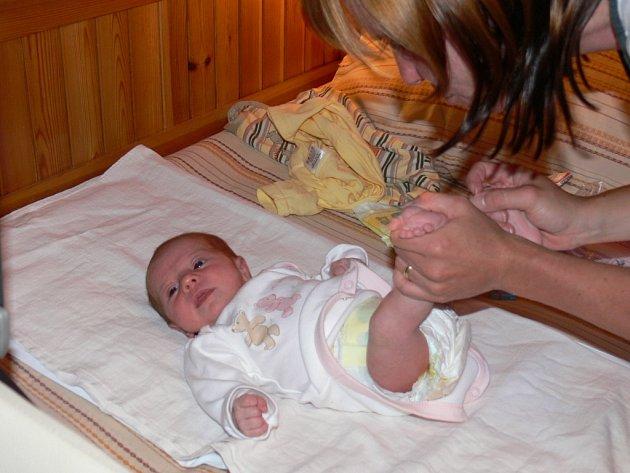 Některé maminky dávají přednost  oblečení z druhé ruky, protože dítě z věcí rychle vyroste.