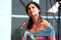 Iva Bittová zazpívá zítra v Alšově jihočeské galerii na Hluboké.
