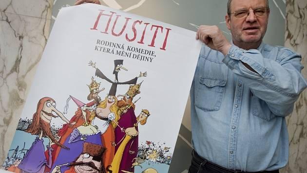 Na Anifilm do Třeboně přijede i režisér Pavel Koutský, jehož celovečerní film Husiti měl premiéru loni na podzim.