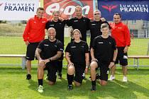 Letní fotbalová škola v Třeboni, patronem je David Lafata.