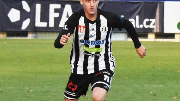 Patrik Čavoš dal v Jablonci vítězný gól Dynama.