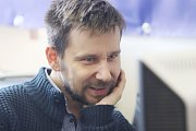 Martin Slaba, kastelán zámku Hluboká nad Vltavou, při online rozhovoru se čtenáři Deníku.