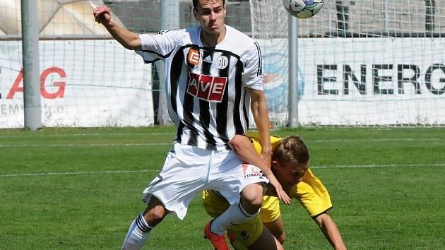 Osmnáctletý Roman Wermke dal proti Jihlavě svůj první gól v I. lize.