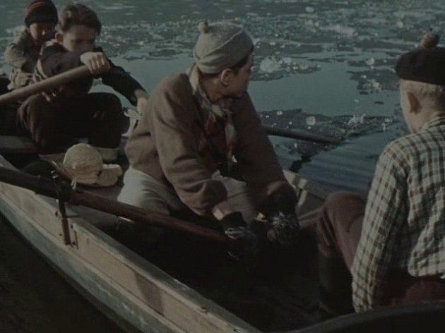 Zamrzlý rybník uStrmilova na Jindřichohradecku si pamatují dětští herci velmi dobře.