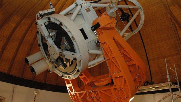 Objevy a pozorování se daří i díky teleskopu Klenot.