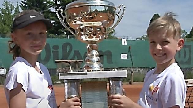 Tenisté na jihu Čech, Vendula Mojžišová a Marcel Bohoněk