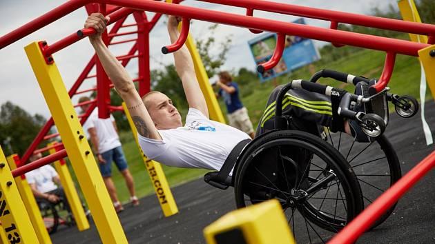 Po workoutovém hřišti vybudují pro vozíčkáře i stezku.