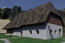 Jihočeské muzeum představilo virtuální podobmu archeoskanzenu v Trocnově.Foto: Jihočeské muzeum