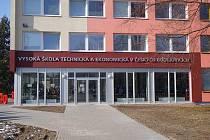 Vysoká škola technická a ekonomická v Českých Budějovicích.