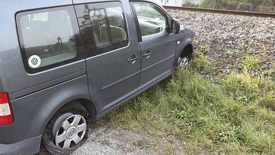 Stímto vozem už český zloděj dál nemohl.