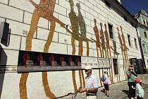 KOMU VADÍ? Za umění na fasádě dostalo českokrumlovské Egon Schiele Art Centrum od památkářů pokutu 45 tisíc.