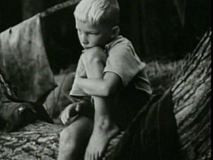 Vjižních Čechách se natáčel film Dobrodružství na Zlaté zátoce.  Karel Bohdal zRájova coby nejmenší blonďatý kluk venkovské party.