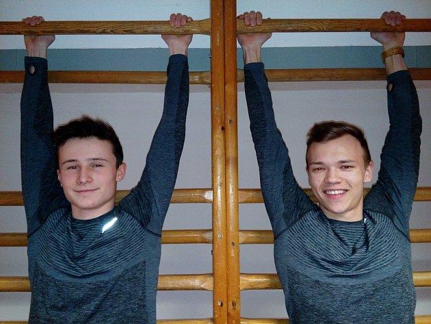 Talentovaní sprinteři Jiří Polák a Tomáš Němejc