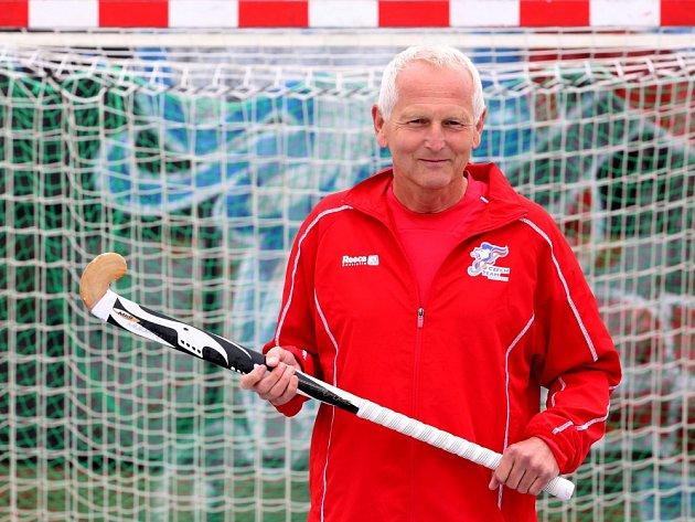 Jan Pirk si na Lipně zavzpomínal na léta, kdy hrával pozemní hokej