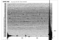 Také seismologcké stanice na jihu Čech zaznamenaly záchvěvy půdy. Český Krumlov.