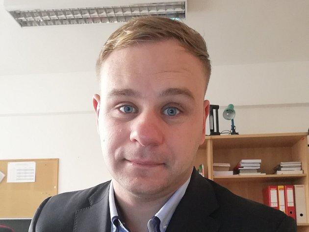 Lukáš Polanecký, ředitel útvaru pro administraci studia VŠTE České Budějovice.